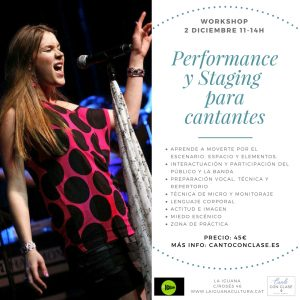 workshop performance y staging